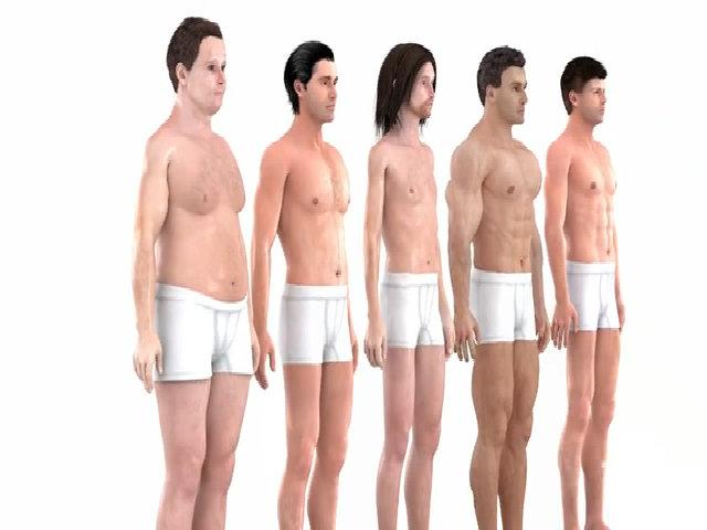 Chuẩn mực thân hình của nam giới thay đổi như thế nào sau 150 năm