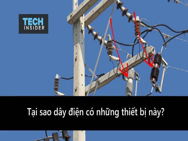 Thiết bị ngăn sét tấn công đường dây điện
