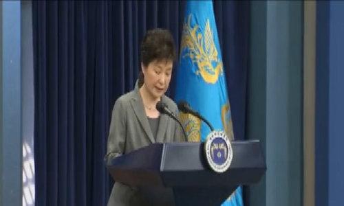 Tổng thống Hàn Quốc sẵn sàng từ chức sớm