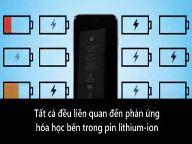 Lý do tuổi thọ pin điện thoại ngắn dần theo thời gian
