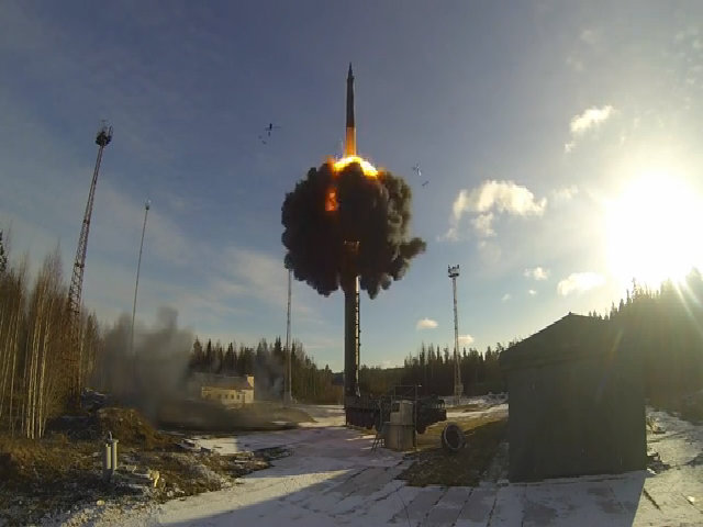 Nga trình diễn màn phóng tên lửa xuyên lục địa
