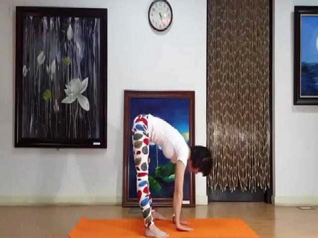 Bài yoga giúp giảm mỡ bụng nhanh