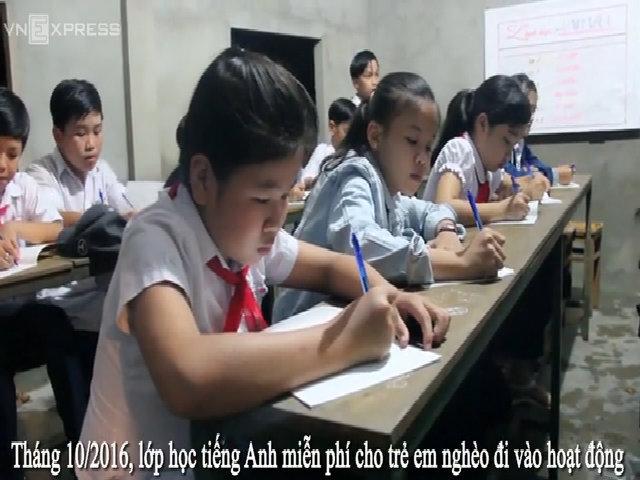 Người đàn ông tật nguyền mở lớp học miễn phí cho trẻ nghèo