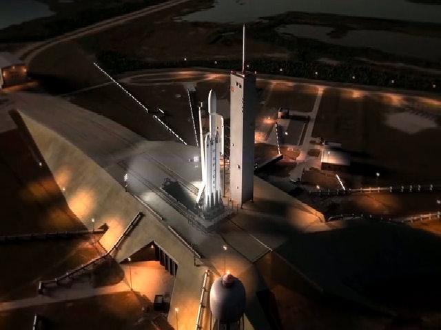 Thử nghiệm tên lửa đẩy hạng nặng Falcon Heavy
