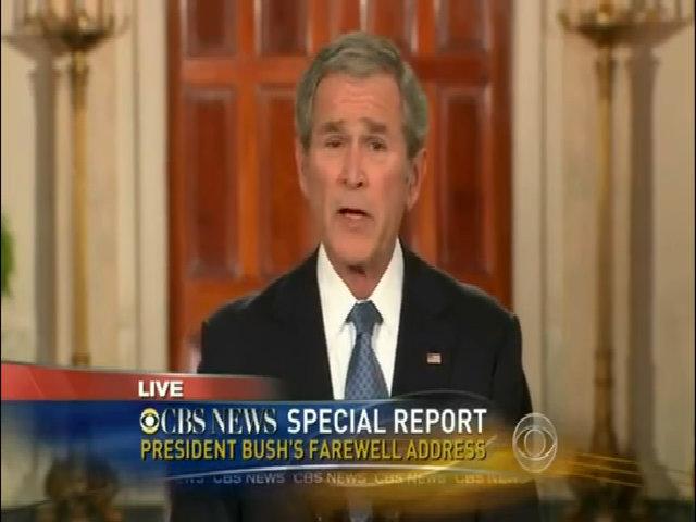 George W. Bush phát biểu chia tay năm 2009