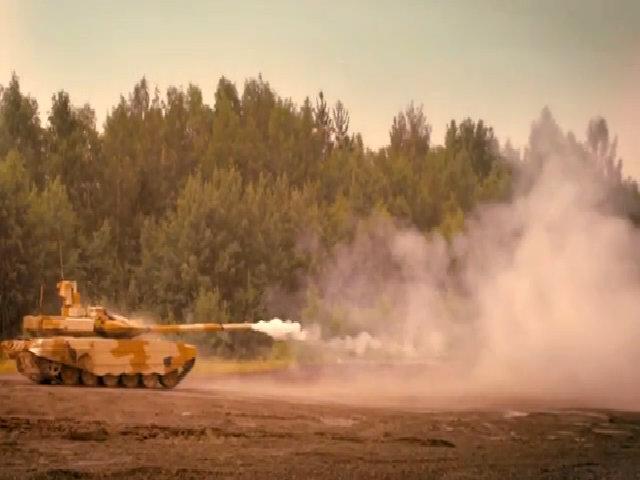 Nga hé lộ phiên bản nâng cấp của xe tăng T-90