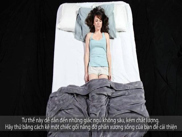 Tư thế ngủ cho biết tính cách của bạn