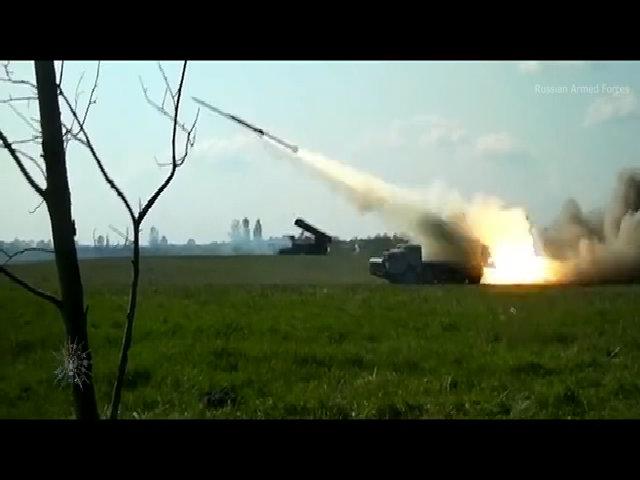 Pháo phản lực Nga được phủ vật liệu tàng hình