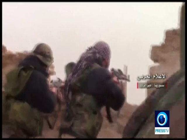 Quân đội Syria tung video đấu súng với IS