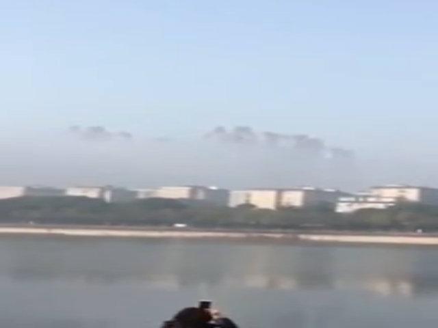'Thành phố nổi' trên mây ở Trung Quốc gây tranh cãi