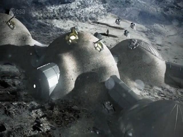 Con người có thể sống trong làng Mặt Trăng vào năm 2024