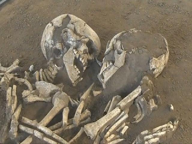 Bộ xương 'Romeo và Juliet' ôm chặt nhau suốt 6.000 năm