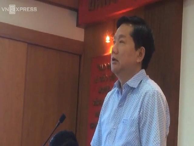 Ông Đinh La Thăng nói về tình hình tội phạm ở quận 2