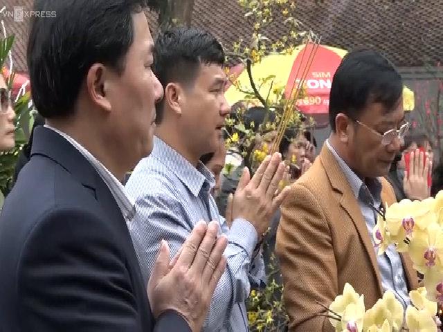 Bộ Văn Hóa kiểm tra lễ hội Đền Trần trước giờ khai ấn