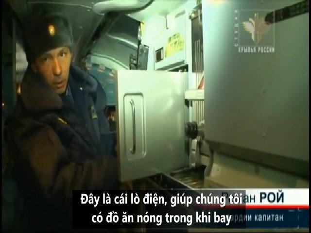 Tiện nghi giúp phi công Tu-160 Nga bay hàng chục giờ không nghỉ