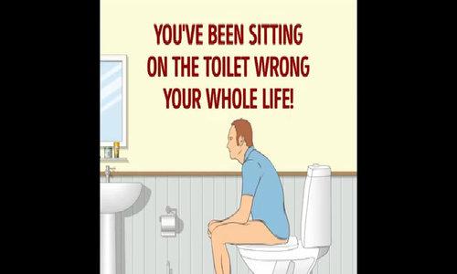 Chàng trai bị cắt đứt mông do ngồi xổm trên bồn cầu vệ sinh