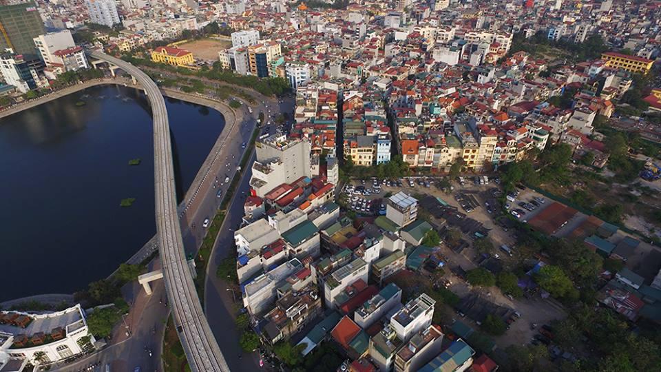 Trải nghiệm các nhà ga tuyến Cát Linh – Hà Đông từ camera bay