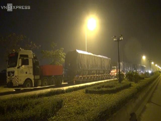 Tàu đường sắt đô thị Cát Linh - Hà Đông có mặt tại Hà Nội
