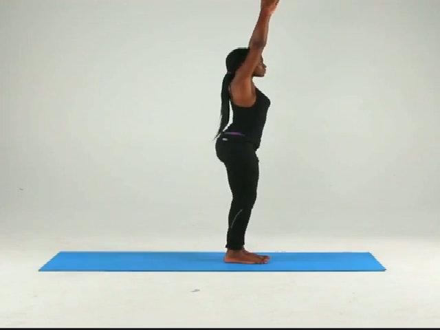 Bài yoga toàn thân chỉ tốn một phút tập