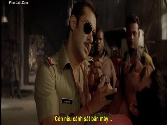 """Sự """"bá đạo"""" của cảnh sát Ấn Độ trên màn ảnh"""