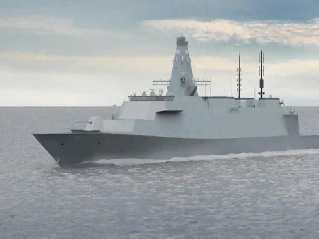 Dự án tàu khu trục 10 tỷ USD của Anh không có tên lửa