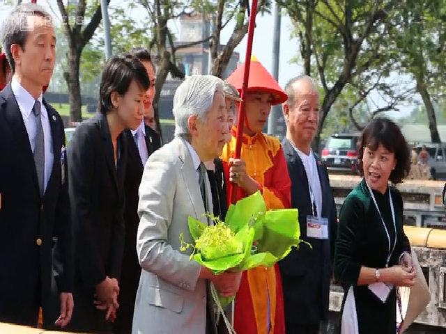 Nhật hoàng và Hoàng hậu thăm cố đô Huế