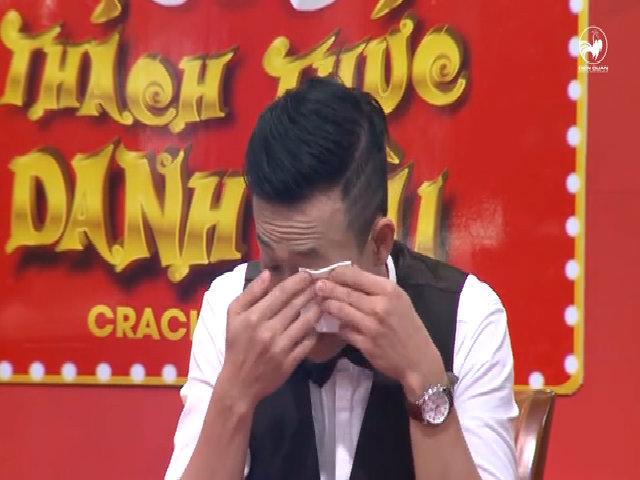 Trấn Thành khóc trước sự hồn nhiên của hai cậu học trò