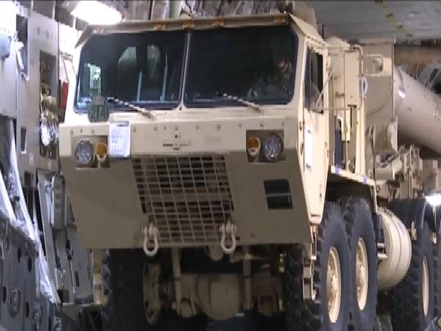 THAAD được chuyển tới căn cứ Osan, Hàn Quốc
