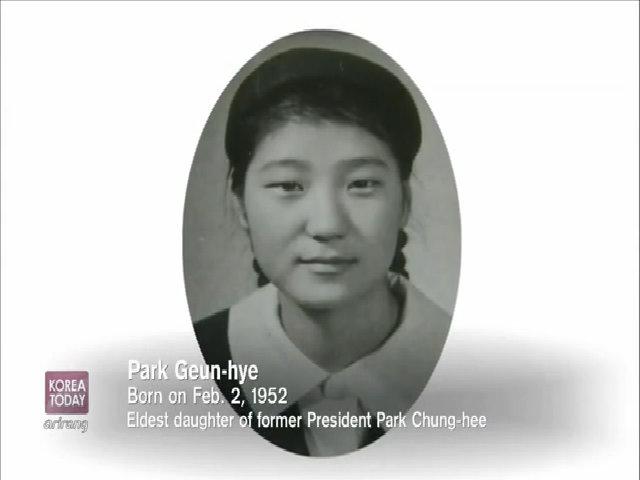 Park Geun-hye thời bé