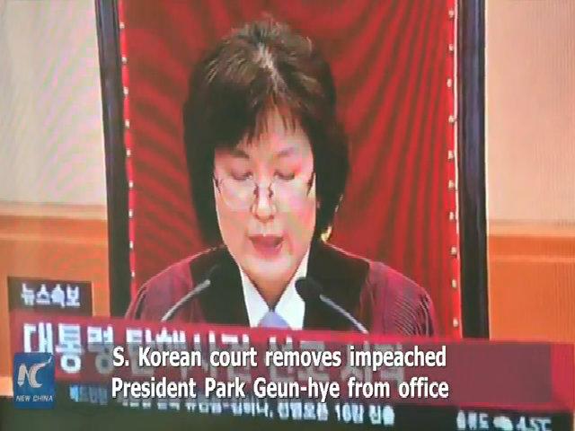 Tổng thống Hàn Quốc bị phế truất không thể về nhà vì lý do an ninh