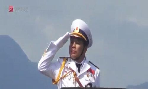 Các lực lượng Hải quân Việt Nam duyệt binh