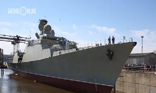 Lễ hạ thuỷ tàu hộ vệ tên lửa lớp Gepard 3.9 của Việt Nam