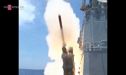Sức mạnh hỏa lực của tàu tên lửa Molnya Việt Nam