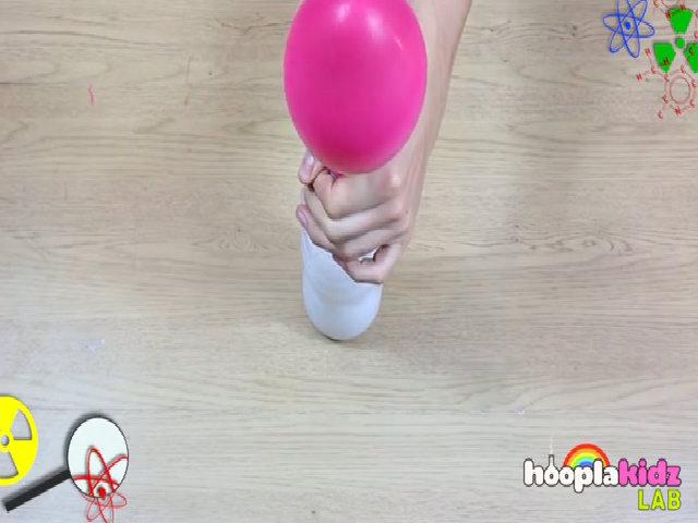 Thổi bóng bằng giấm