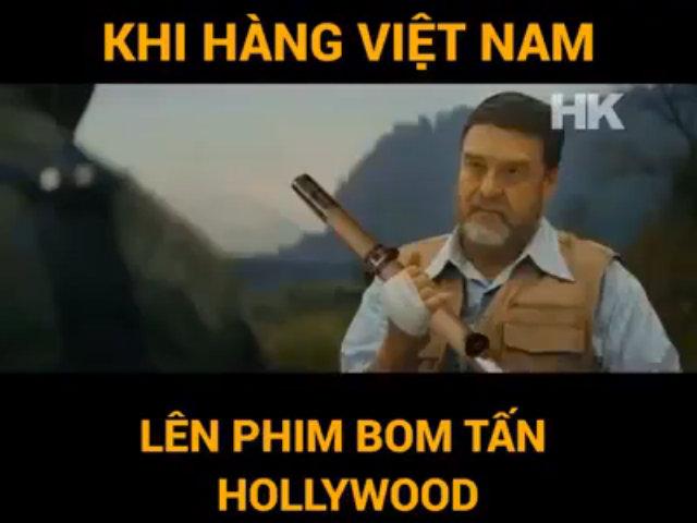 Khi các hiện tượng Việt Nam lên trailer bom tấn Hollywood