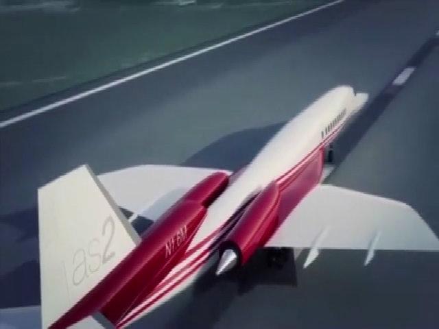 Máy bay siêu thanh không ồn sẽ xuất hiện vào năm 2023