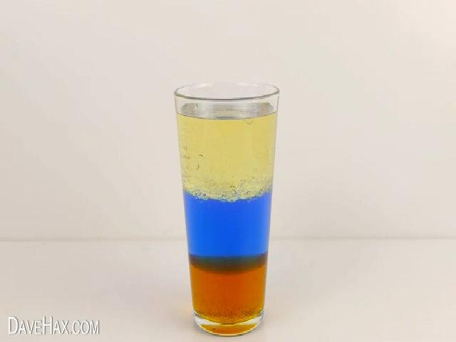 Thí nghiệm 3 lớp chất lỏng