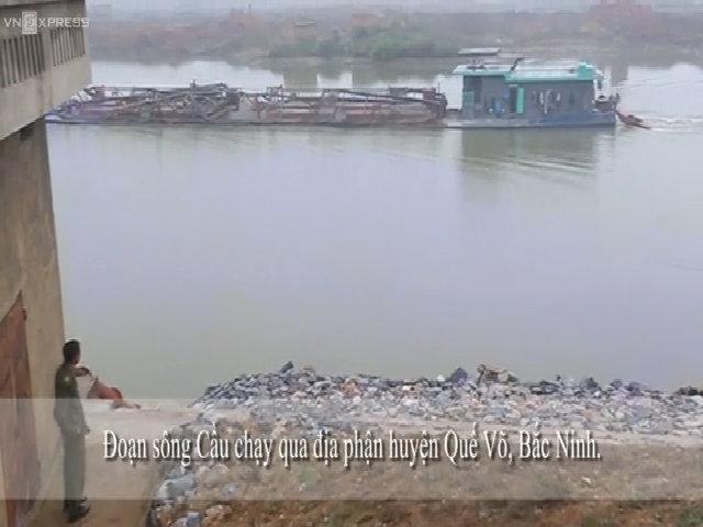 Phó chủ tịch tỉnh Bắc Ninh: 'Dân đốt chìm tàu cát gây chết người vì búc xúc nạn khai thác cát'