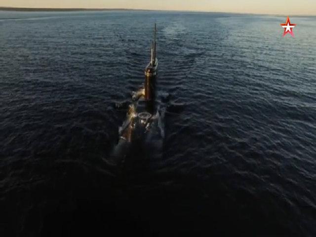Hải quân Nga tập trận tiêu diệt tàu ngầm Kilo