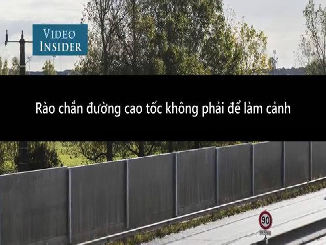 Công dụng của rào chắn trên đường cao tốc