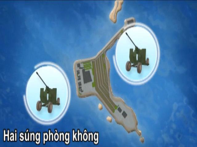 Những vũ khí Trung Quốc bị nghi đưa ra 7 đảo nhân tạo ở Biển Đông