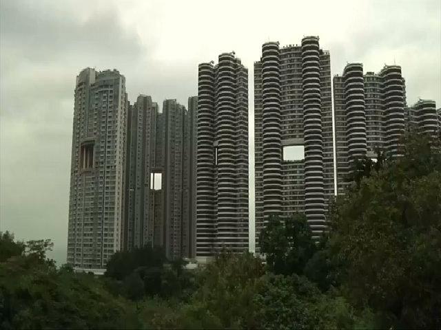 Lý giải lỗ hổng giữa những tòa nhà chọc trời ở Hong Kong