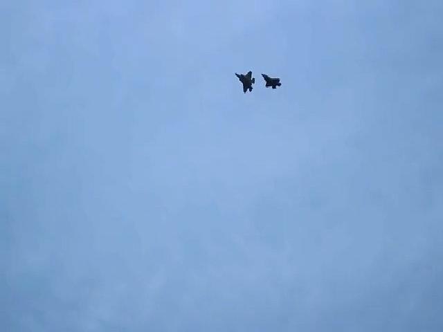 Siêu tiêm kích F-35 Mỹ tham gia ném bom tại Hàn Quốc