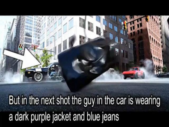 Đáp án lỗi trang phục trong cảnh quay mạo hiểm