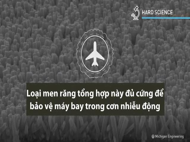 Men răng nhân tạo có thể bảo vệ máy bay