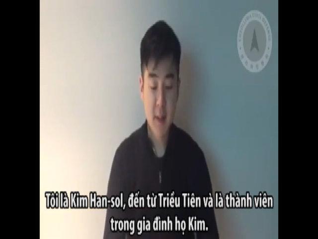 Người xưng là con trai Kim Jong-nam nói cha đã chết