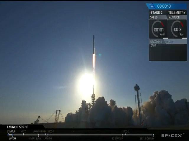 SpaceX phóng thành công tên lửa tái sử dụng Falcon 9