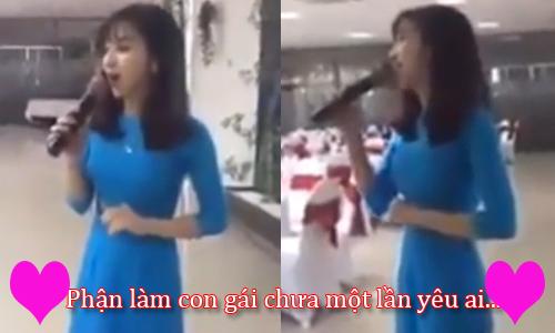 Thiếu nữ xinh đẹp hát 'Duyên phận' khiến người nghe rụng rời