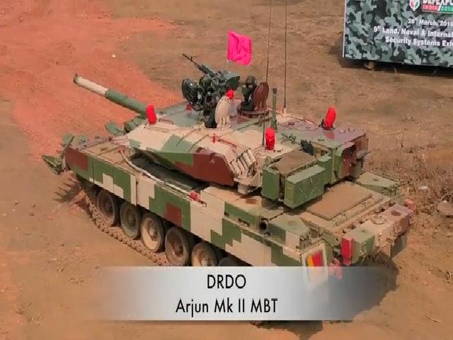 Ấn Độ thử thành công vũ khí mới cho xe tăng chủ lực thế hệ ba