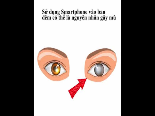 Vì sao dùng smartphone trong bóng tối dễ 'bmù tạm thời'